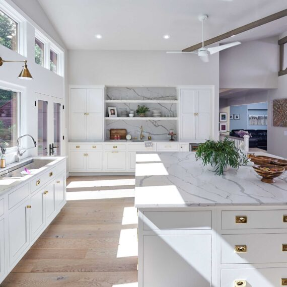 Zen Glam Kitchen