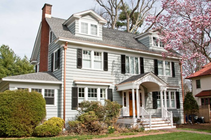 A modern aesthetic merged with this classic colonial home created an opportunity for a unique renovation for MRC